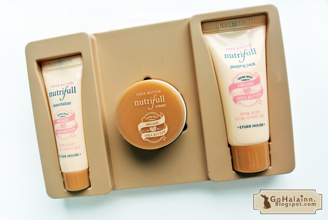 Etude House Shea Butter Nutri-full Skin Card Trial Kit Giveaway