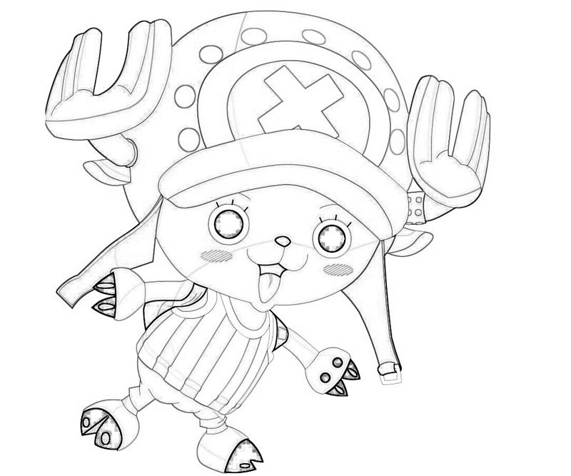 one-piece-tony-tony-chopper-funny-coloring-pages