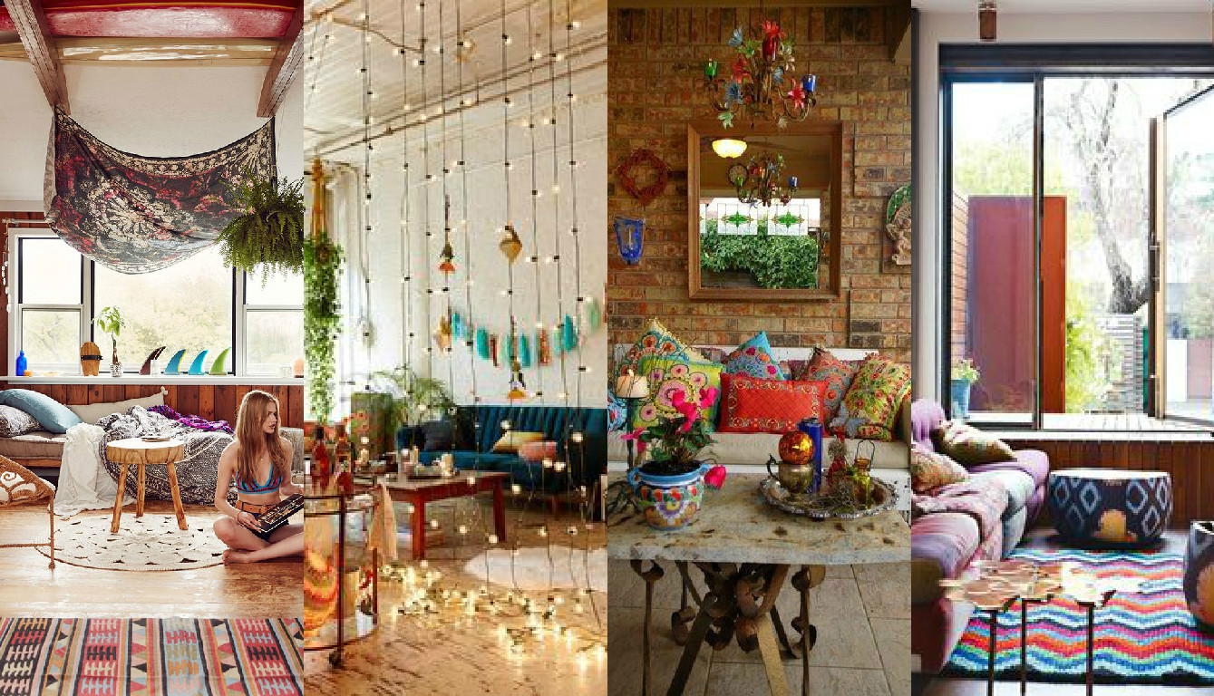 Decoracao Sala Hippie ~ Laris Carneiro Inspirese decoração hippie