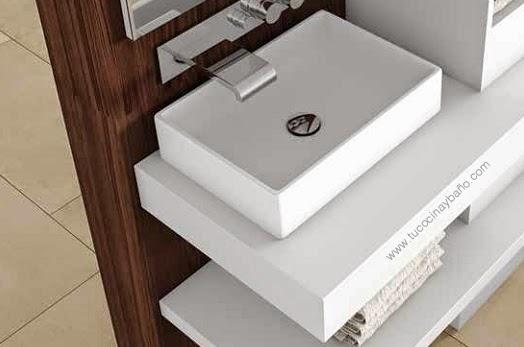 precio lavabo corian krion barato