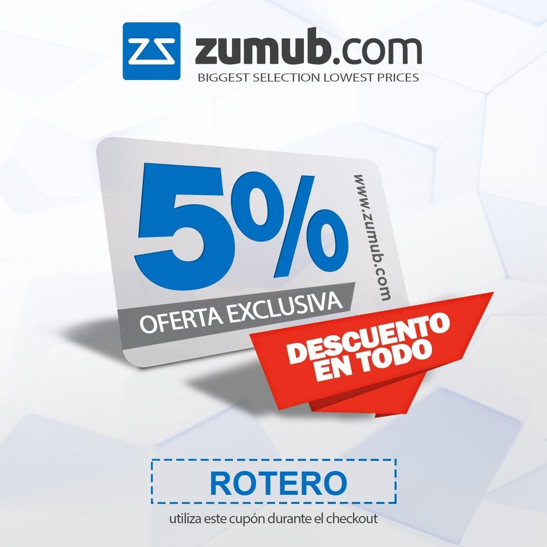 Descuento en Zumub.com usando este cupón