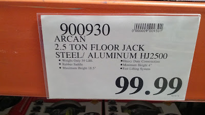 Auto repairs are made easier with the Arcan Hybrid Floor Jack HJ2500