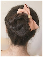 cara mengikat rambut yang cantik ala korea
