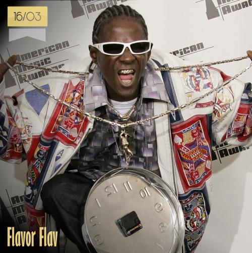 16 de marzo | Flavor Flav - @FlavorFlav | Info + vídeos