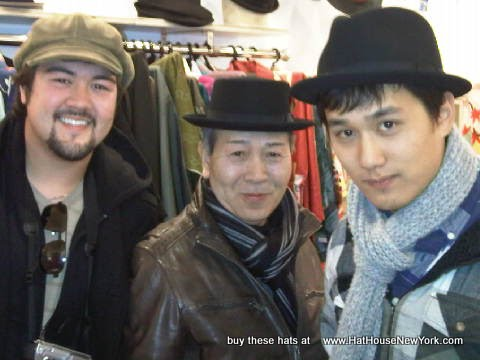 New York Hat Company, Porkpie, Newsboy and Stingy Fedora at The Hat House NYC