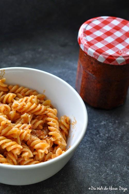Tomatenpesto mit Cashewkernen