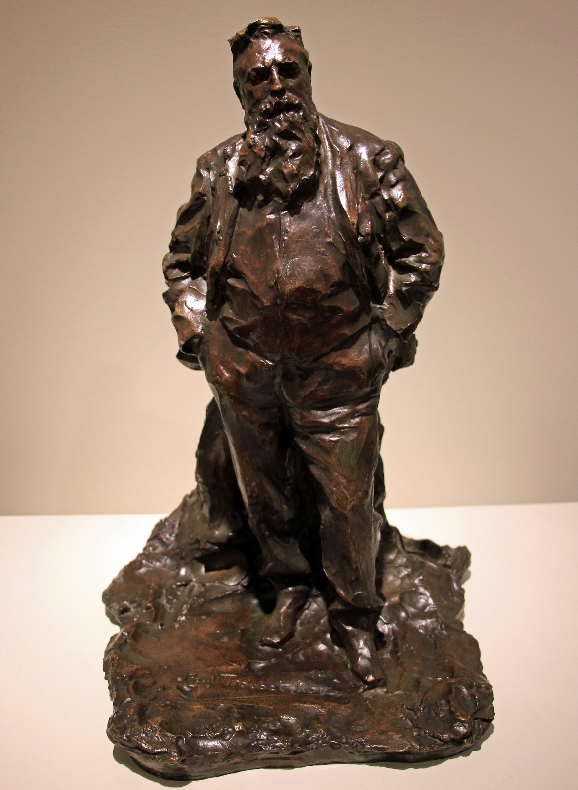 Paolo Troubetzkoy Portrait  of  Rodin