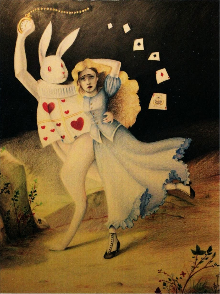♥ ♣ Alice Running With White Rabbit! ♣ ♥