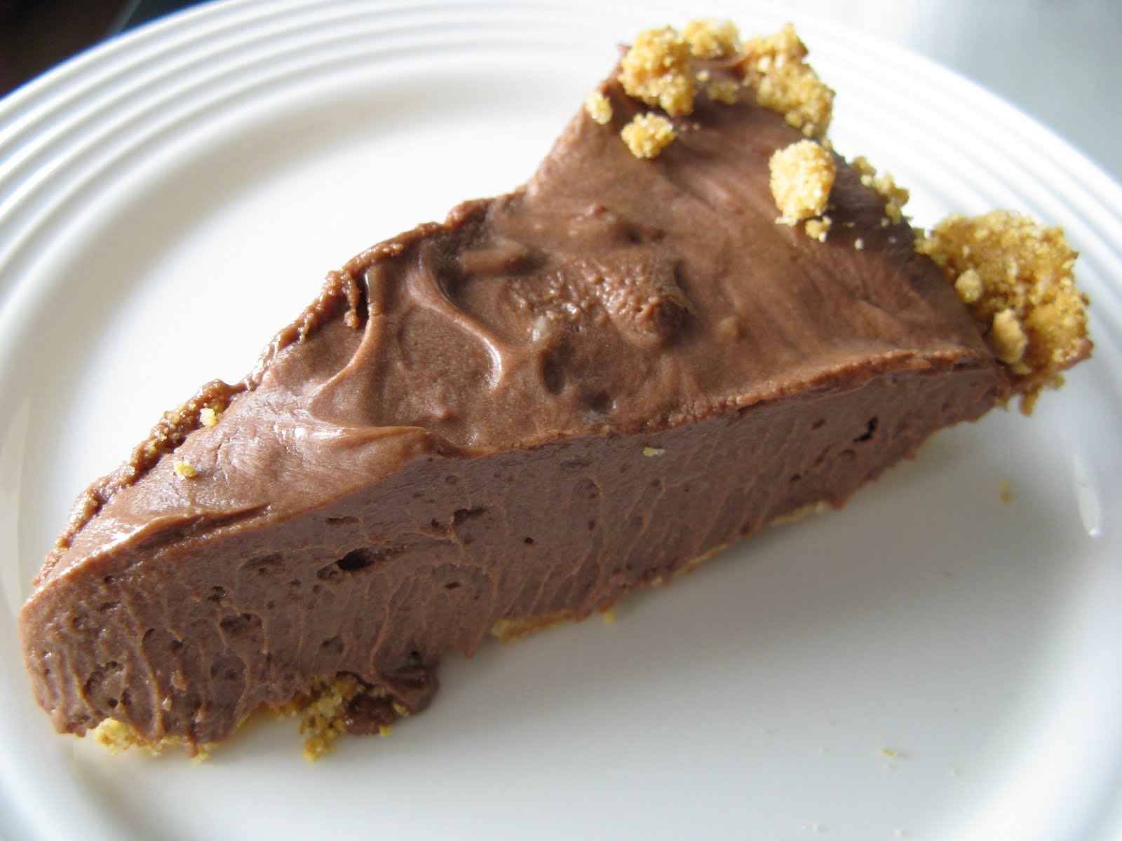 Meg's Nutella Ice Box Pie Recipe — Dishmaps