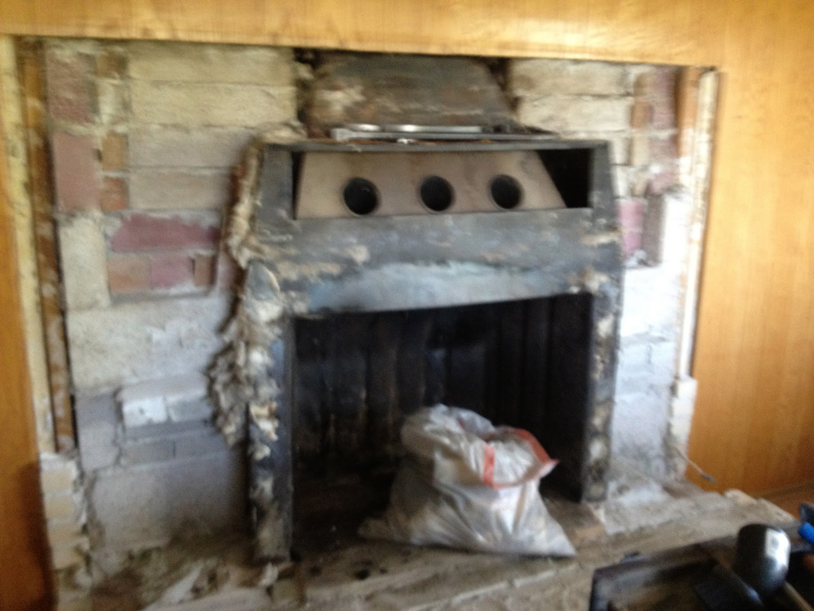 Fireplace Insert Removal Remove Brick Fireplace Demolition Clearing In