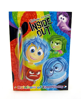 pixar inside out coloring book