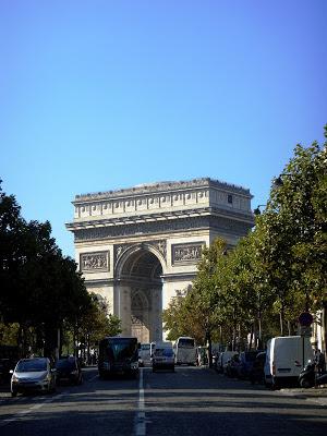 Wochenende in Paris - Arc de Triomphe