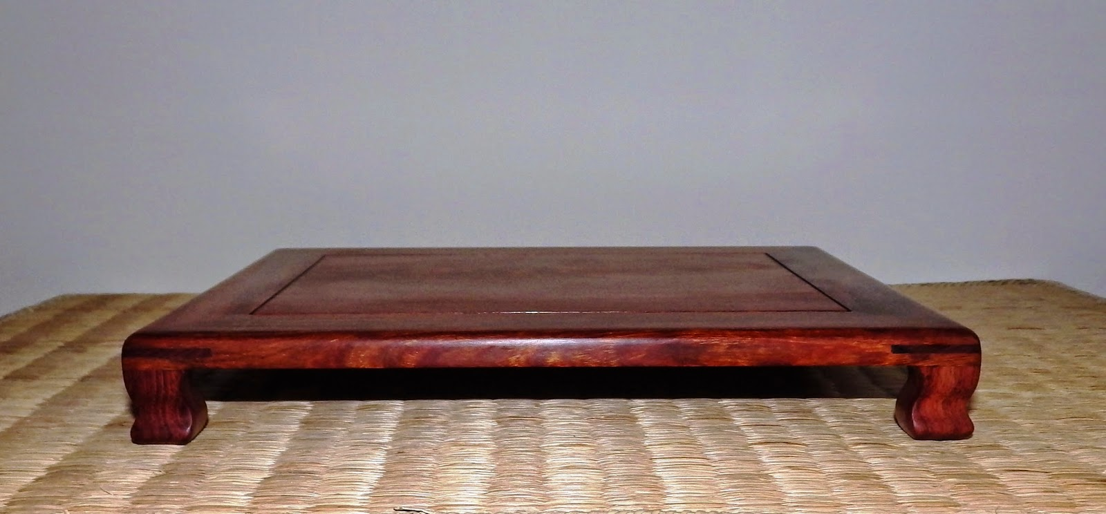 Rosewood Shohin Table 230mm X 180mm X 30mm