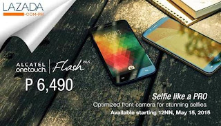 Alcatel Flash Plus Available Starting Today At Lazada for Php6,490