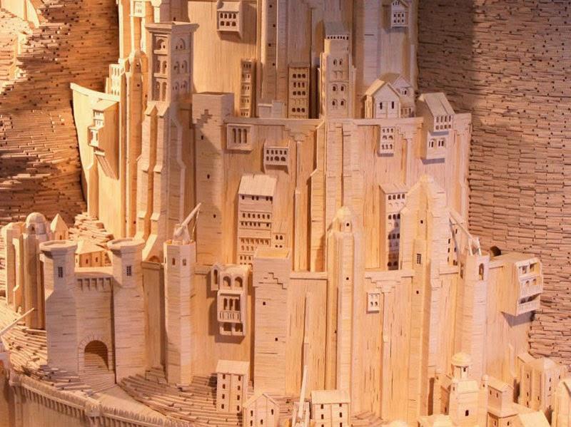 Minas Tirith, Kota Megah dari Korek Api Istimewa