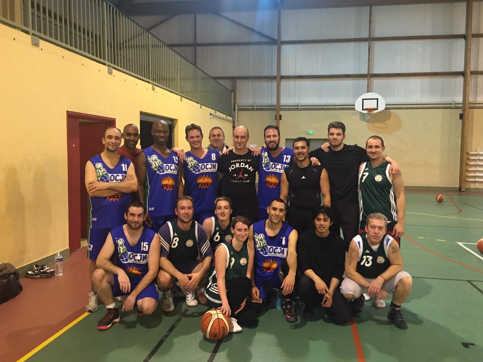 """Basket loisir : les """"Bourrins"""" de Jouy déchantent face à Menucourt"""