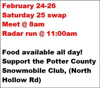 2-24/26 Potter County Vintage Snow Fest
