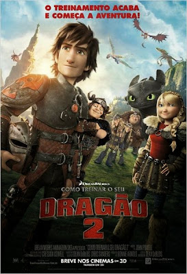Download Como Treinar o Seu Dragão 2 BDRip AVI Dual + RMVB Dublado Baixar Filme