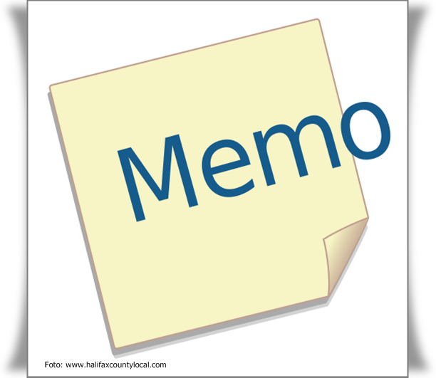 contoh memo