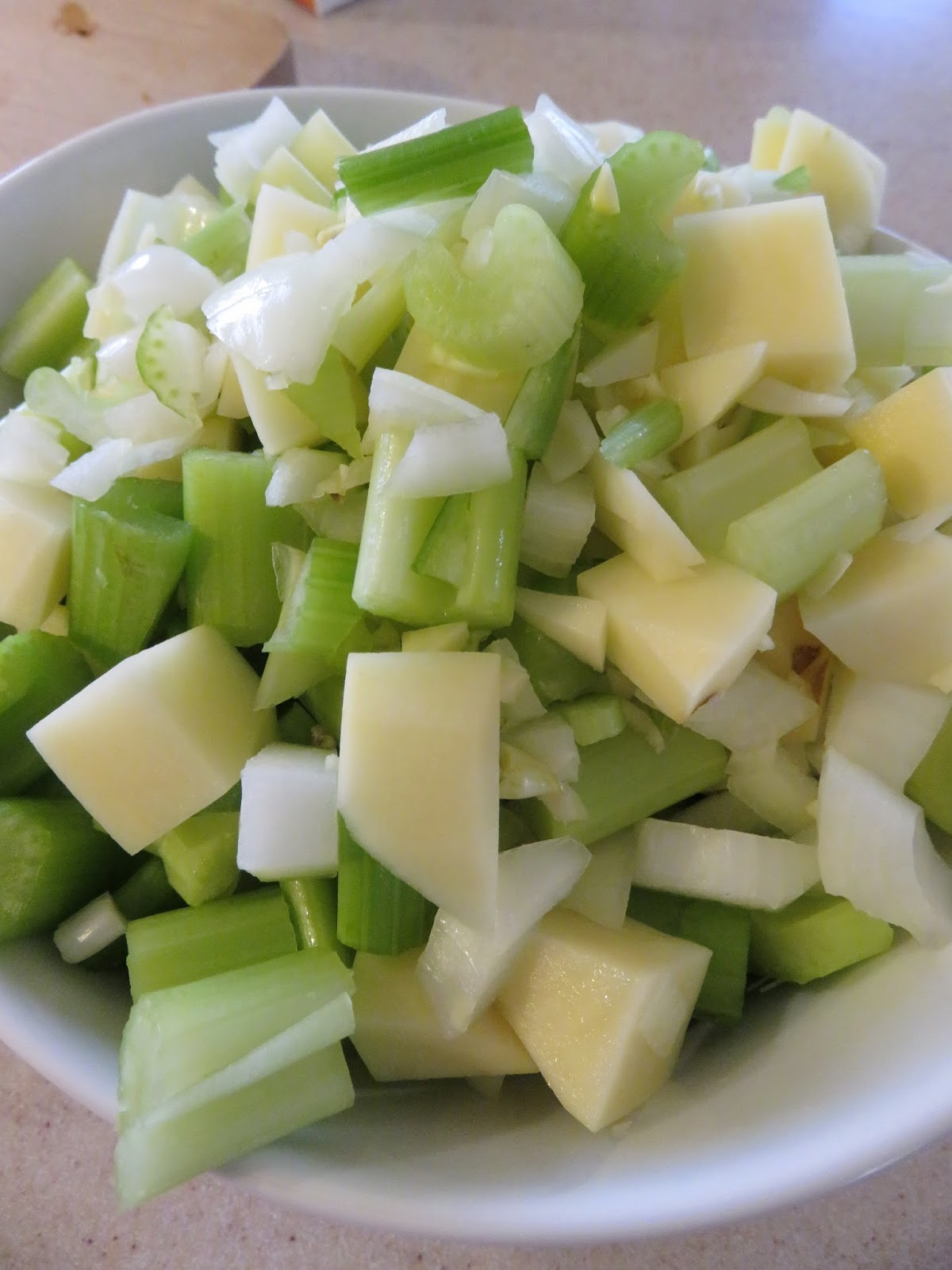 how to use celery in soup