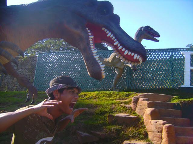 Vigan City | Dinosaurs Reborn in Baluarte ni Chavit