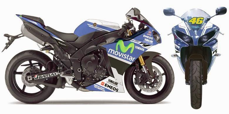 Gambar Yamaha R1 MotoGP Special Edition 2014 Harga Indonesia Terbaru