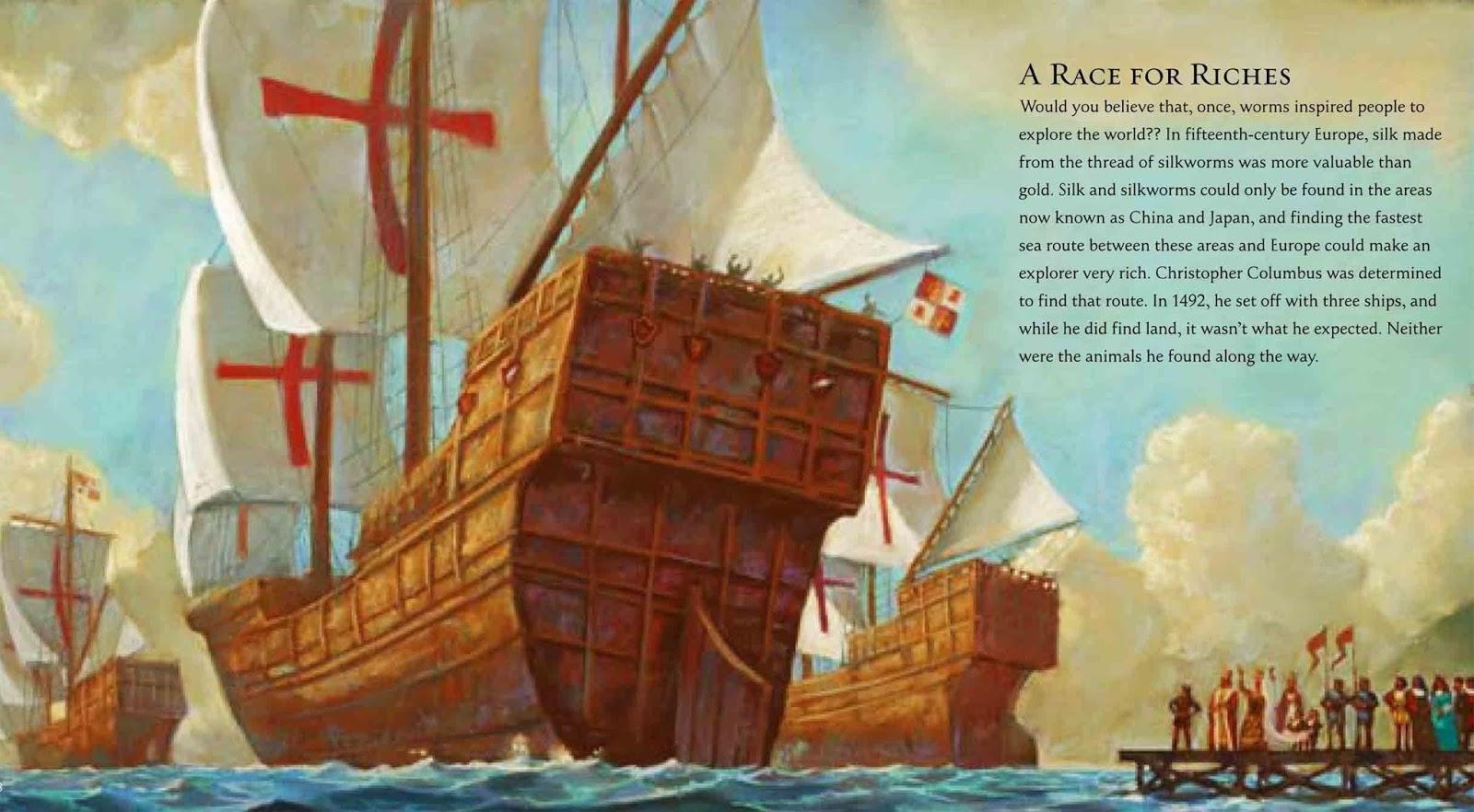 write on sandra markle sail into action for columbus day