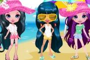 3 Kız Giydir Oyunu