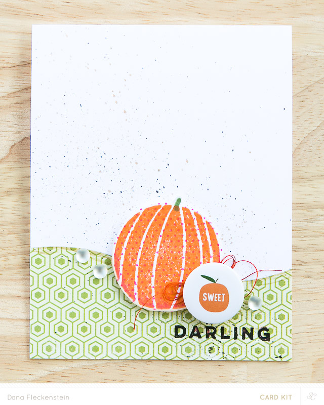 Sweet Darling - handmade card by @pixnglue