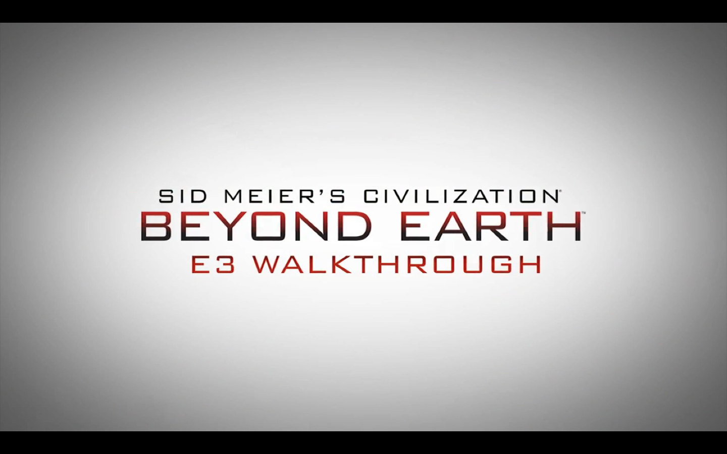 Firaxis Sid Meier Civilization E3 game coverage preview tutorial presents