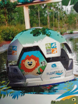 #Floatball Ride in ZooMiami