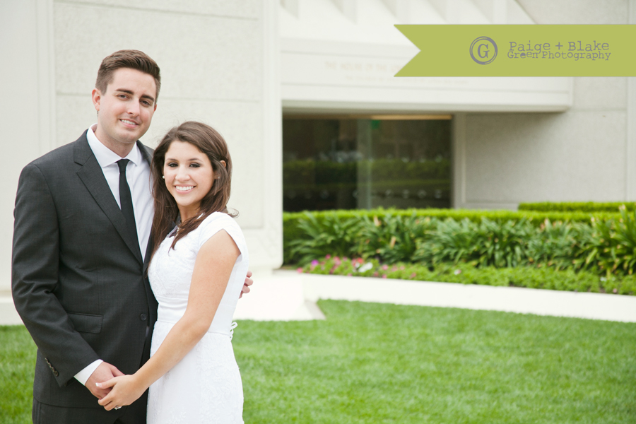 San Diego LDS Temple Wedding by Paige and Blake Green Photography