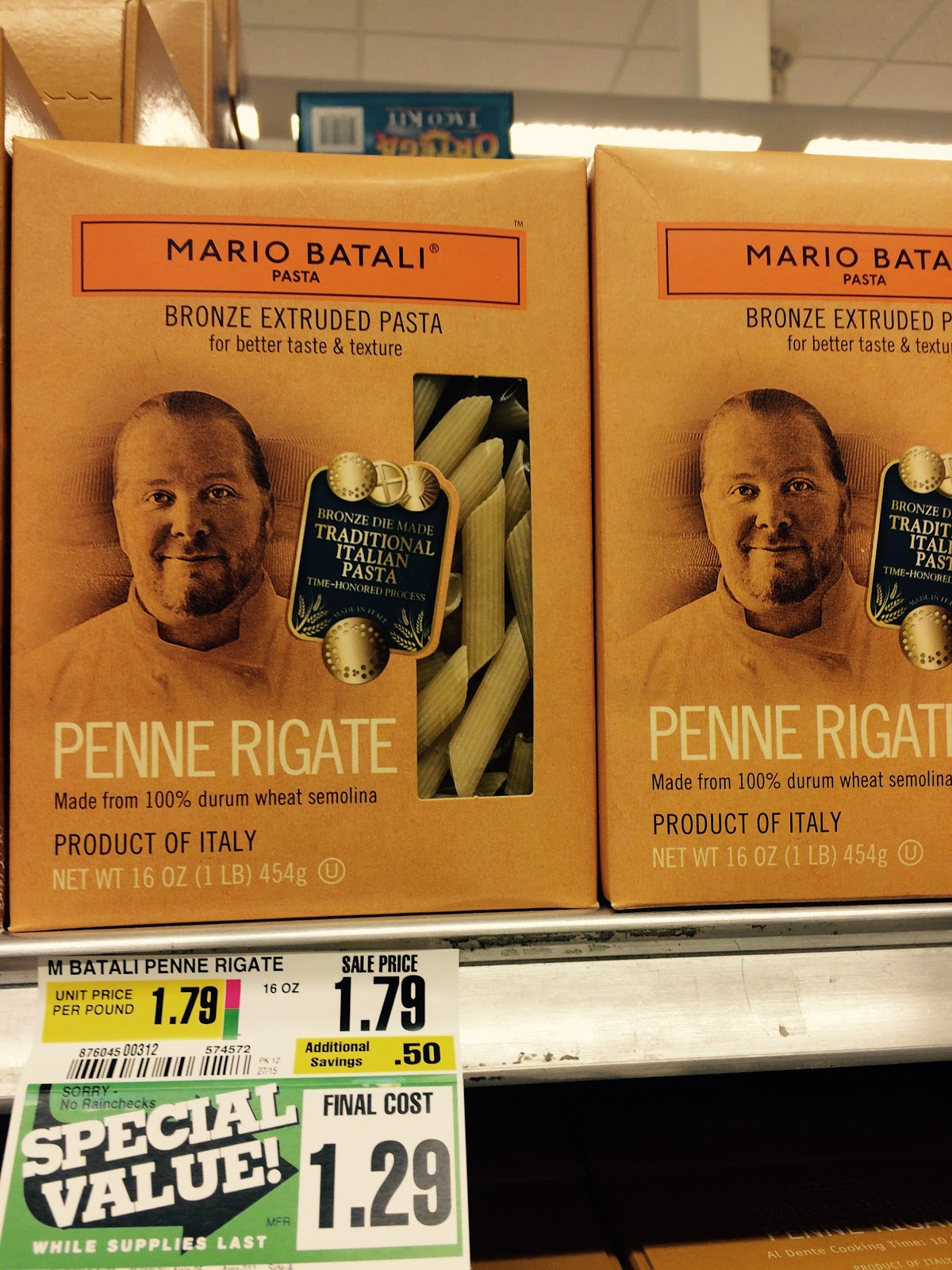 Shoprite can can sale 2015 - On Friday At The Shoprite In Paramus A 1 Pound Box Of Mario Batali Pasta Was On Sale For 1 29 Above Compared To 2 99 In January Below
