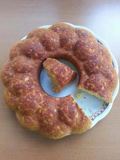 Kek Kalıbında Mısır Ekmeği