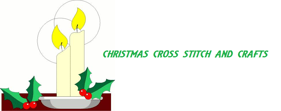 free Christmas cross stitch and crafts