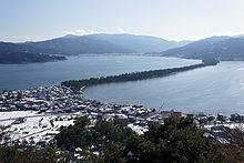 Amanohashidate in Miyazu, Kyoto Prefecture, Japan