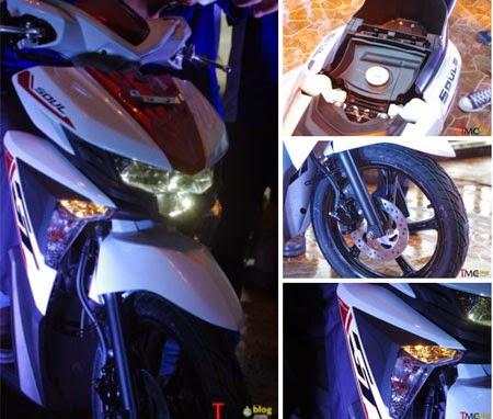 gambar yamaha new soul GT 125