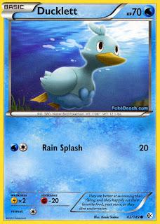 Ducklett Boundaries Crossed Pokemon Card