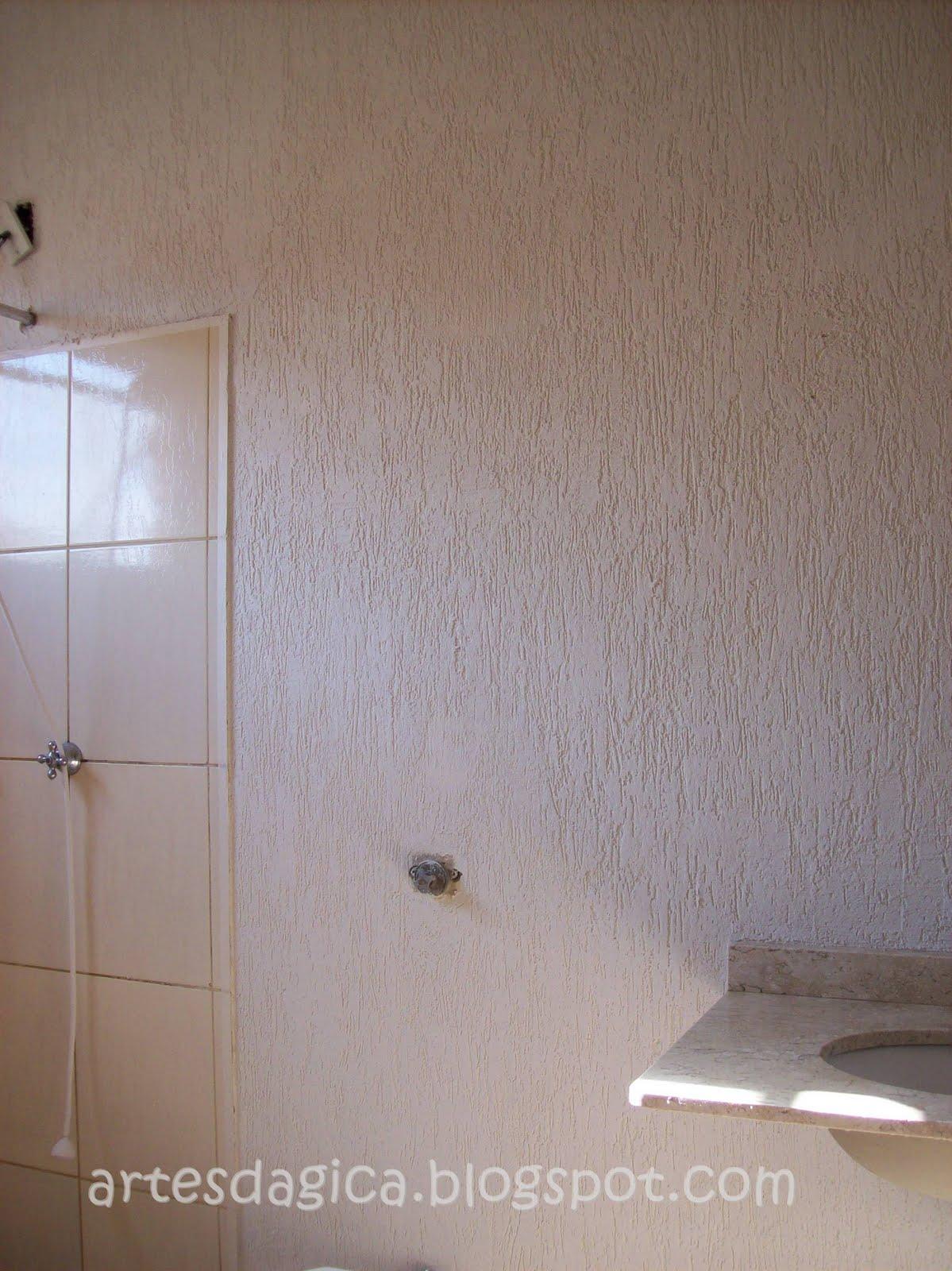 Artes da Gica: Extreme Makeover Banheiro  parte II #614E41 1199 1600