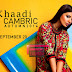 Khaadi Cambric Autumn Collection 2014 - Embroidered Cotton Printed Suits