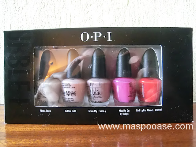 OPI Top Ten Mini Collection
