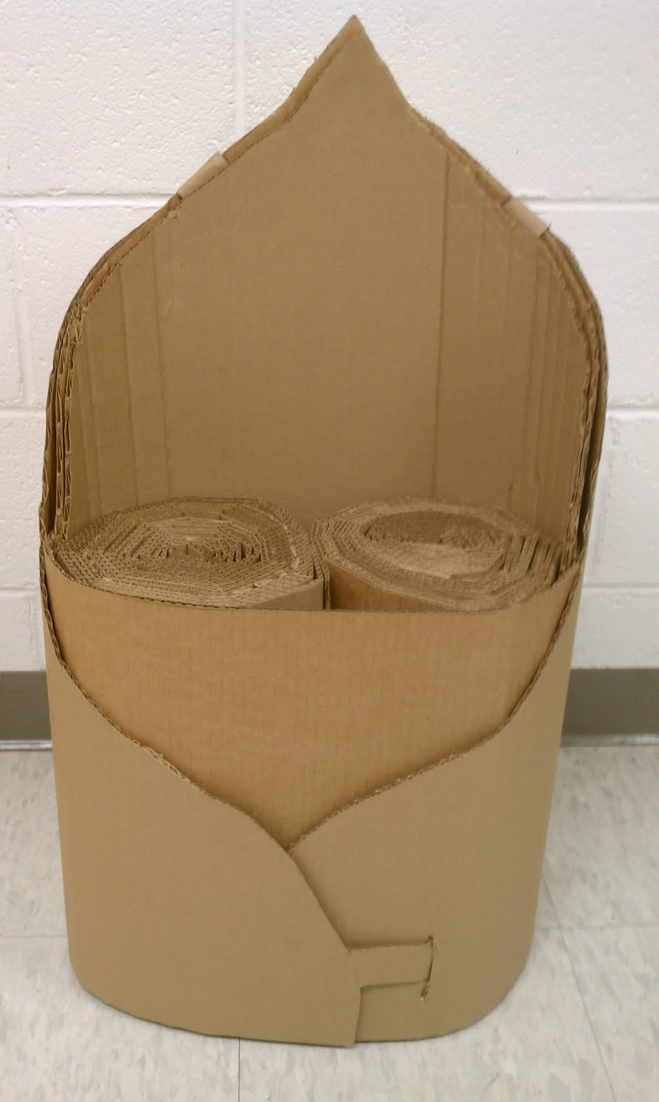 Emily Harr graphy Final Cardboard Chair