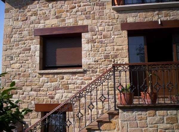 Estructuras estructuras de piedra en el uso de la - Construccion casas de piedra ...