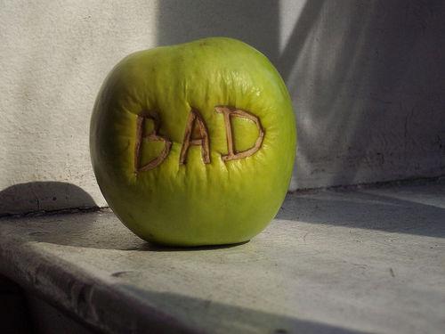 Meditations of my Heart Bad Apples