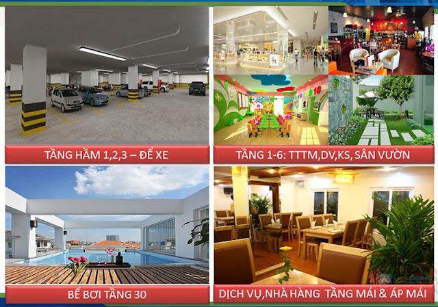 Tiện ích chung cư Golden Millennium 110 Trần Phú Hà Đông