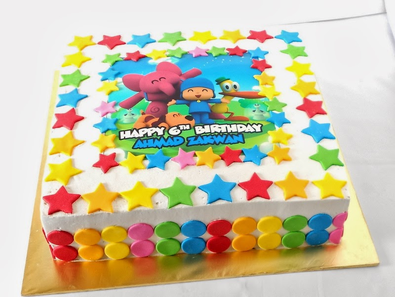 Cake With Edible Image