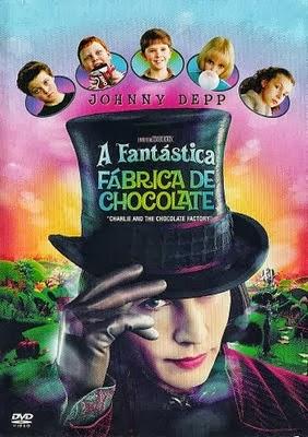 Filme A Fantástica Fábrica de Chocolate Dublado AVI DVDRip