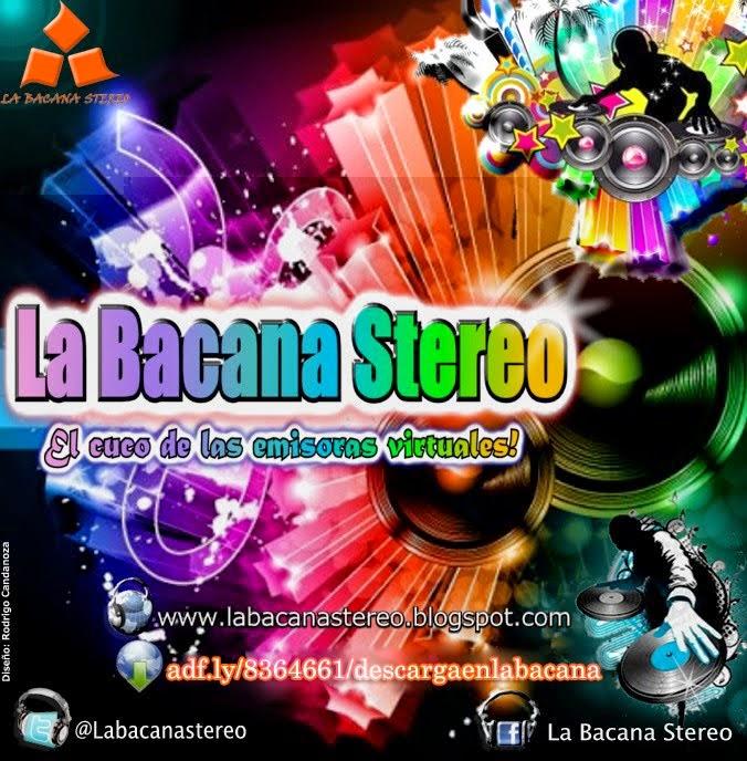 Logo oficial de La Bacana Stereo