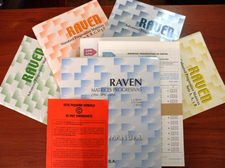 RAVEN, MATRICES PROGRESIVAS (b)