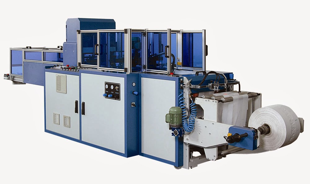 automatic bag-making machine with pouching bags making machinery big equipments